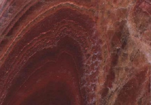 marble onice red vulcano