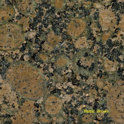 granite nâu baltic